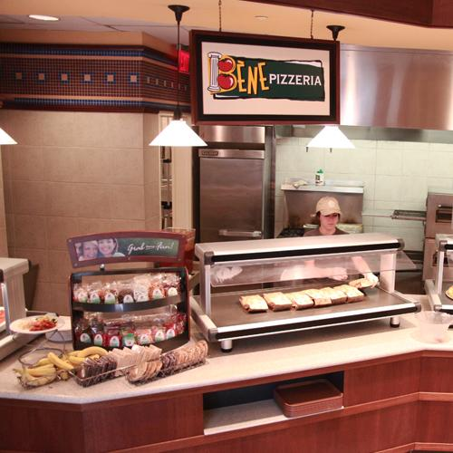 Plaza Cafe Order station